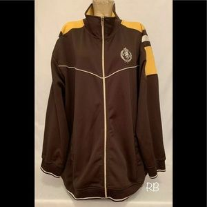 🌈 Ecko Unltd. Brown Yellow Athletic Jacket 3XL